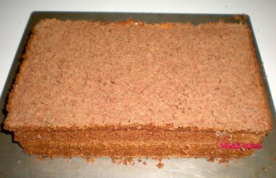 recept za čokoladni biskvit, recept za biskvit, recept za torto, višnjev nadev, recept torta, višnjeva torta