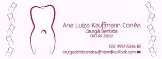 ANA LUIZA KAUFFMAM CORRÊA