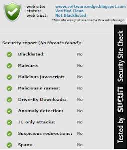 SoftwarezEdge is Virus Protected!