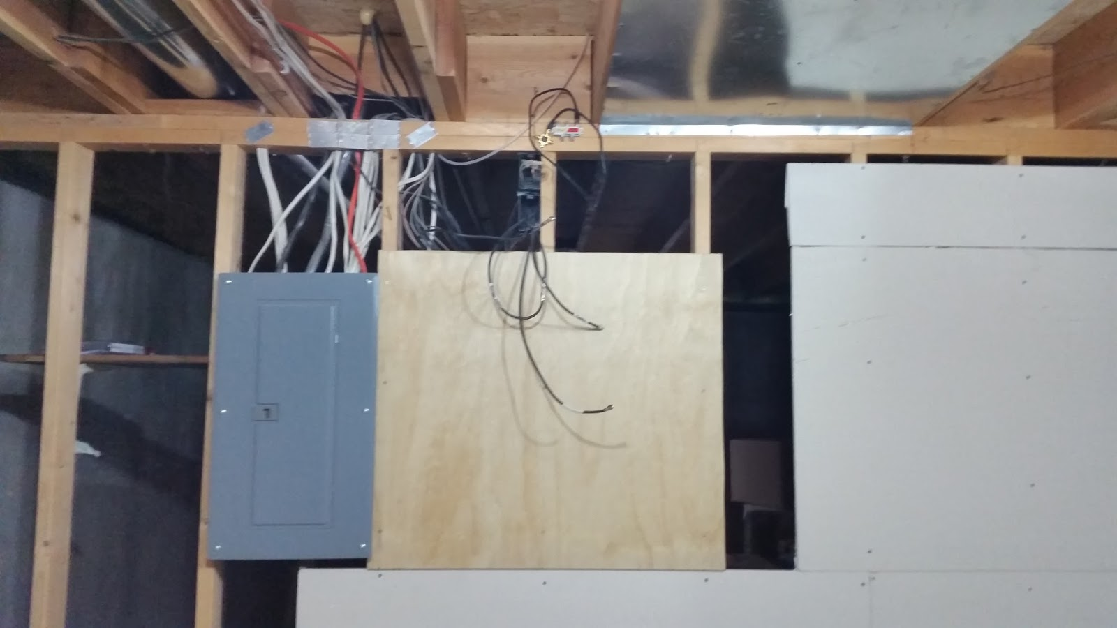 Installing residential network wiring