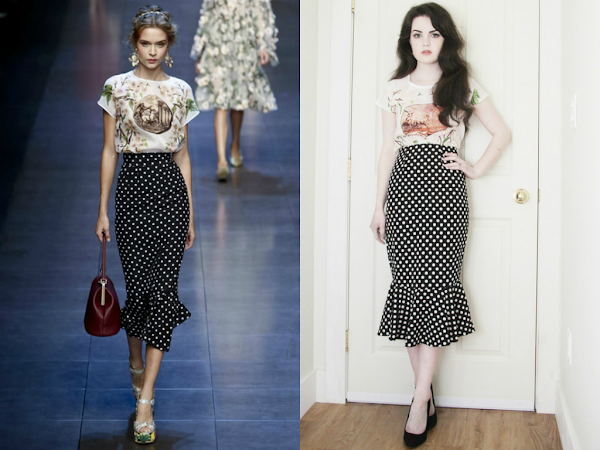 Get The Look: from Dolce&Gabbana S/S 2014