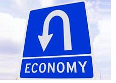economy arrow