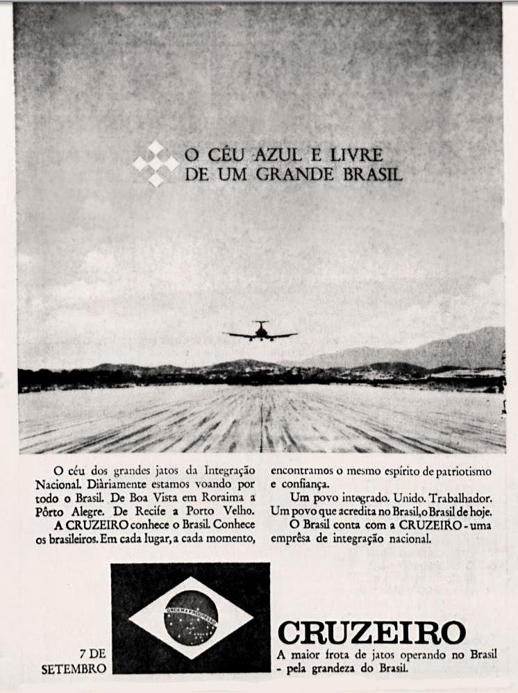 História da década de 70; Propaganda nos anos 70; Brazil in the 70s. Oswaldo Hernandez.