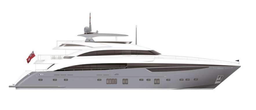 Princess Yachts 40M Close To Completion