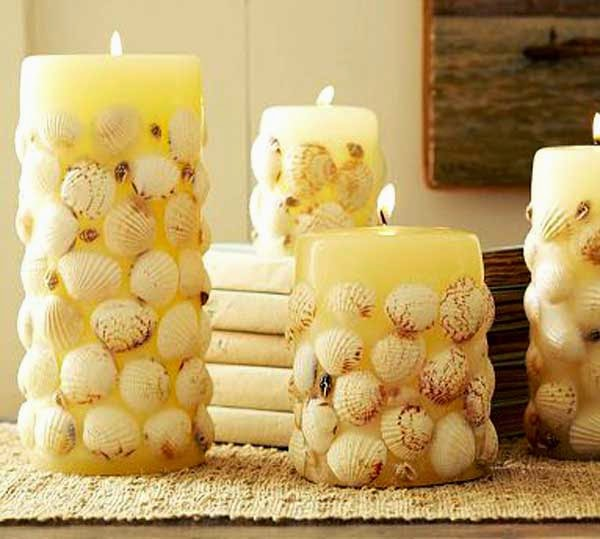 Sea shell craft for home decoration crafts and arts ideas for Shells decorations home
