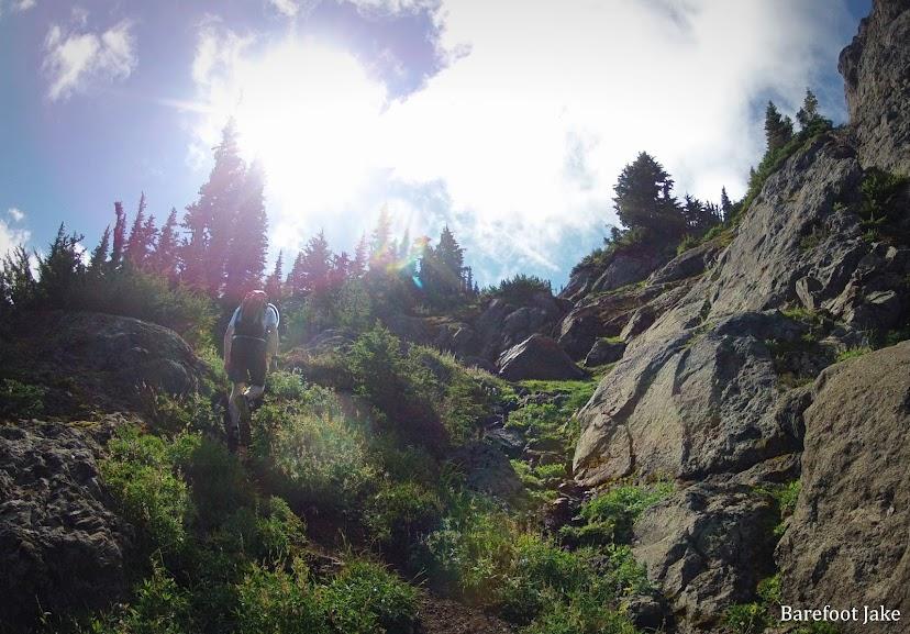 klahhane ridge loop trail