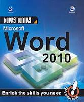 toko buku rahma: buku KUPAS TUNTAS MICROSOFT WORD 2010, pengarang madcoms, penerbit andi