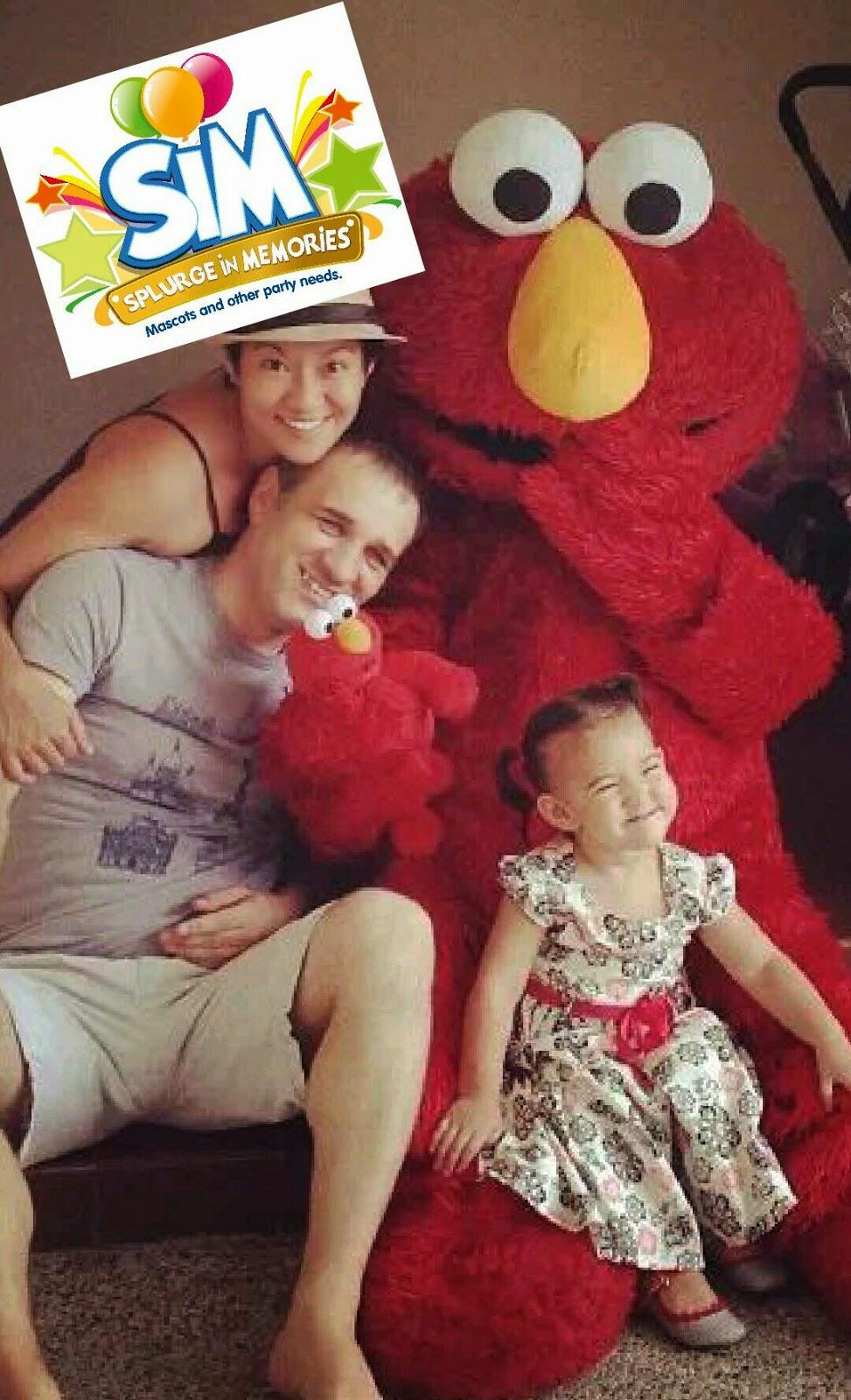 Elmo mascot