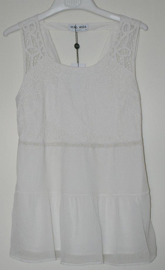 White top from Vero Moda