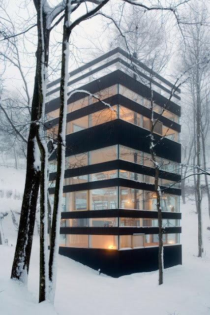 > Dope Forest House In Japan - Photo posted in Wild videos, news, and other media | Sign in and leave a comment below!