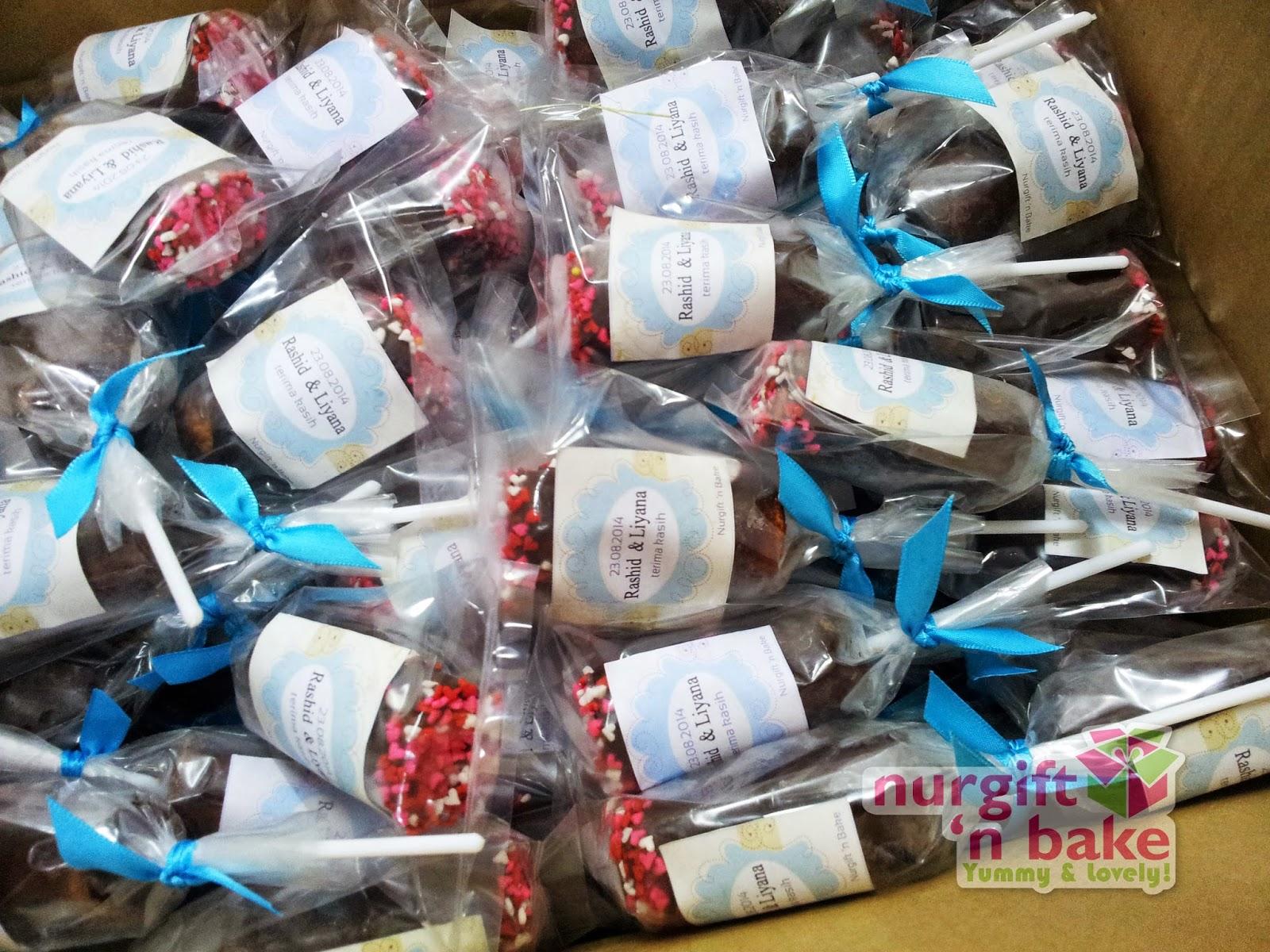 Hamper ramadhan hari raya cupcake doorgift wedding for Idea door gift perkahwinan