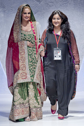 Pakistan Fashion Week Sara Rohale 2012