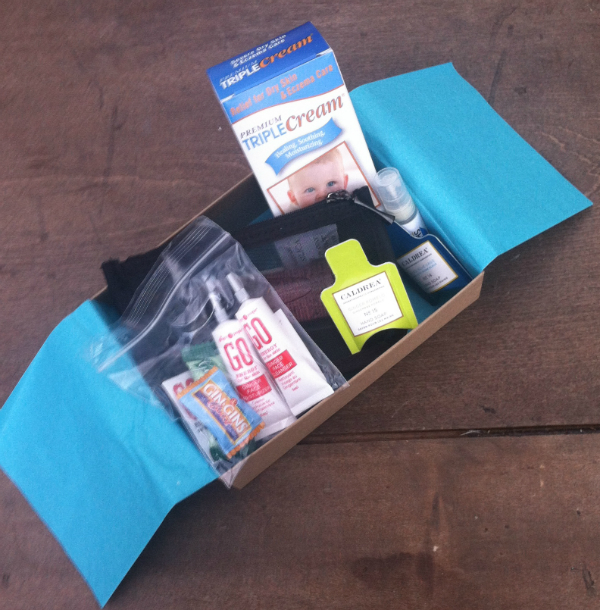 Bluum Box - Mom and Baby Monthly Subscription Box Review - August 2012