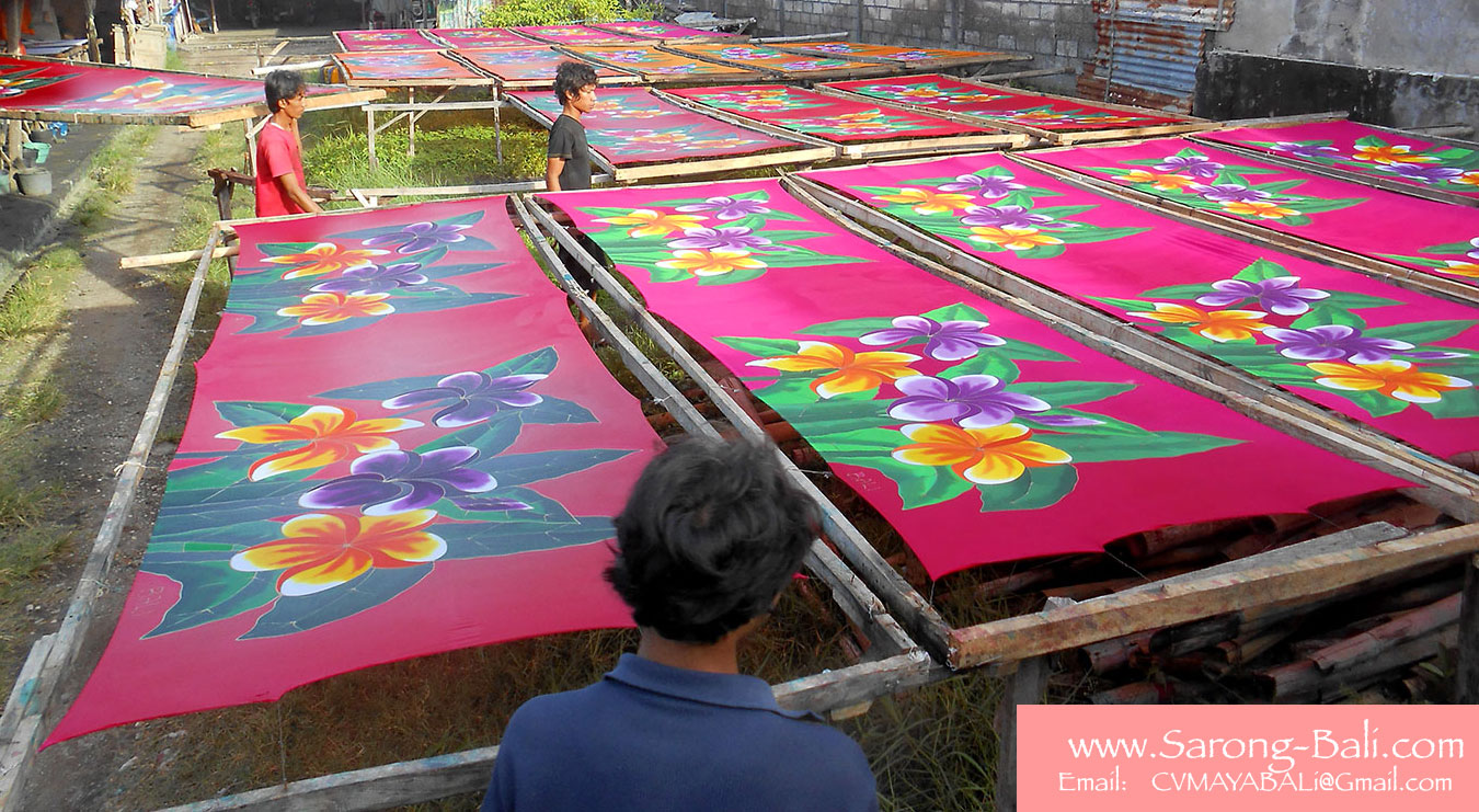 Sarongs Factory Bali