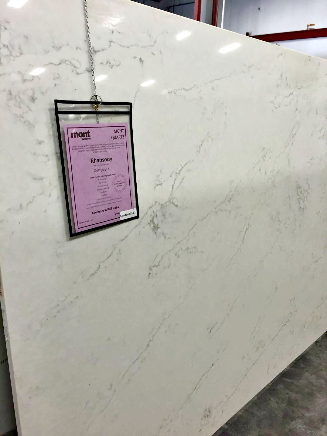 Super White Granite Kitchen Stone Counters That Look Like Marble And My Pick From Thrifty
