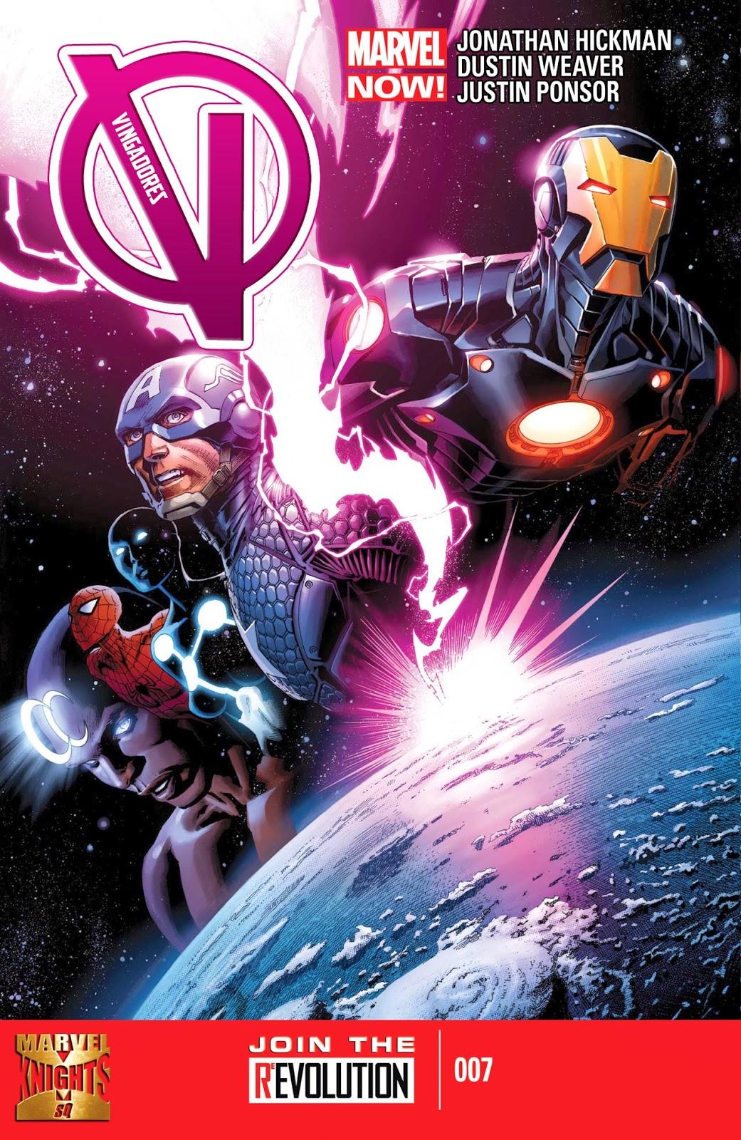 Nova Marvel! Vingadores v5 #7