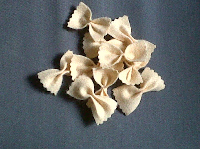 Recettes Pâtes-Salade de papillons aux noisettes