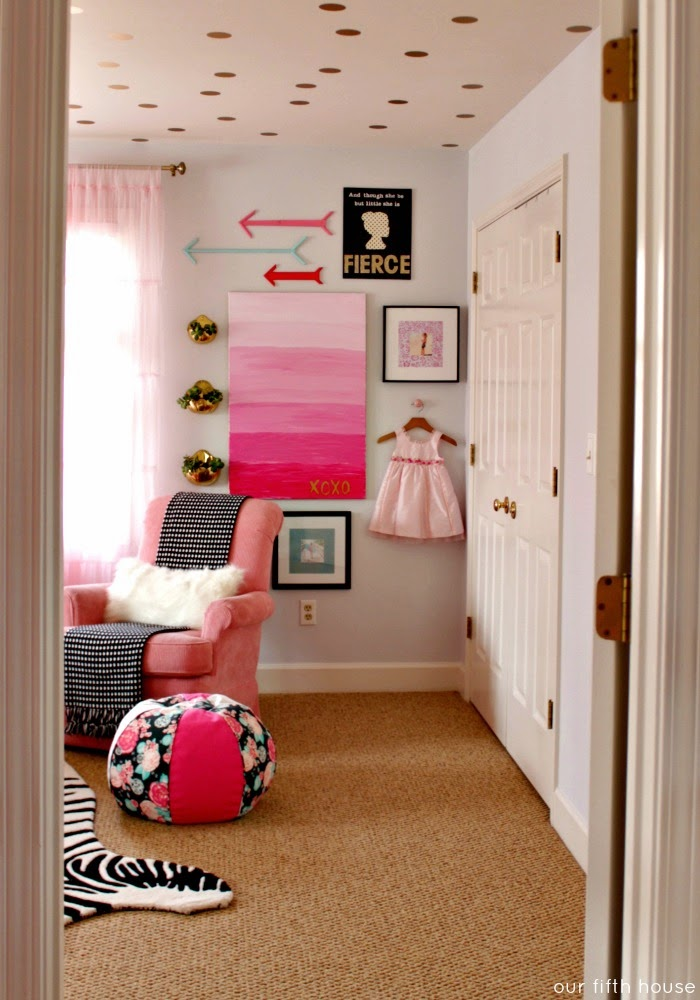 our fifth house - little girl's room