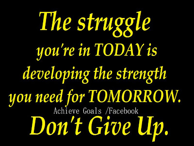 the struggle youre in today 副本 Inspirational Quotes About Life And Struggles