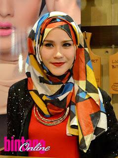 modle jilbab cantik ala zaskia