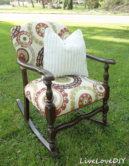 Rocking Chair Makeover