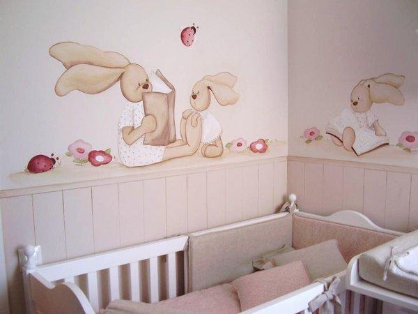 Coc tonos tostados acierto seguro for Como pintar un mural infantil