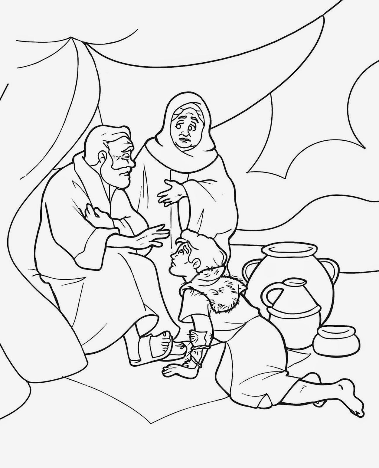 Lección 11: Isaac bendice a Jacob   Historias Biblicas Para Niños