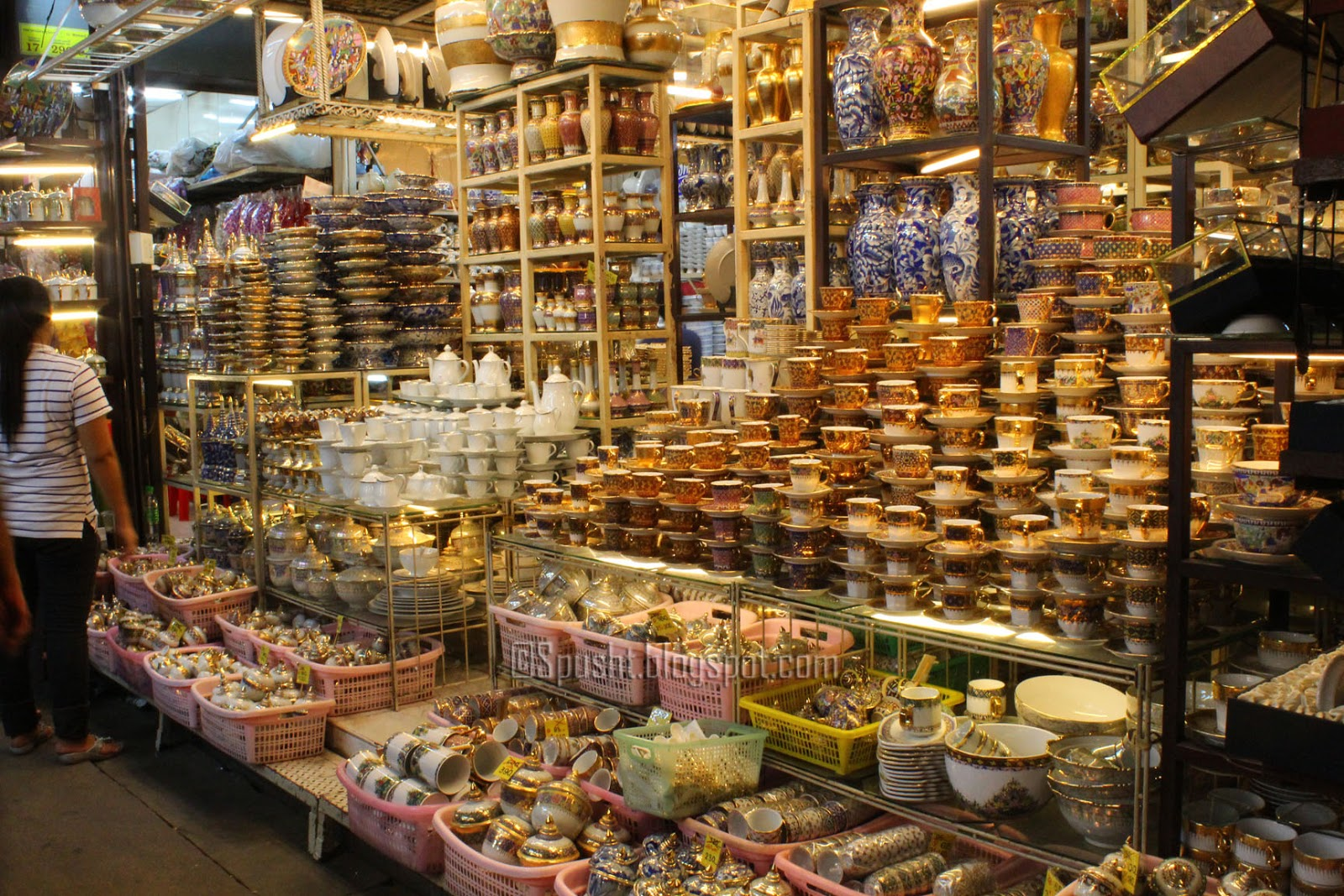 Spusht: Chatuchak Market, Jatujak, JJ Market - same thing