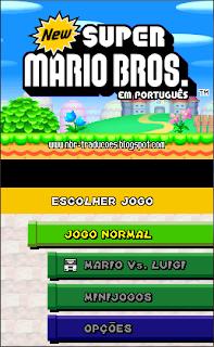 [NDS] New Super Mario Bros. (Novo Super Irmãos Mário) NSM1