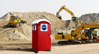 The RED Head portable toilet