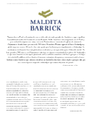 MALDITA BARRICK. PDF ONLINE