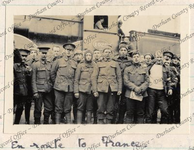 6th Battlion, Durham Light Infantry, taken by Captain PHB Lyon (D/DLI 7/424/2(28))