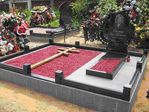 Памятники из гранита цветник цены на памятники липецк д