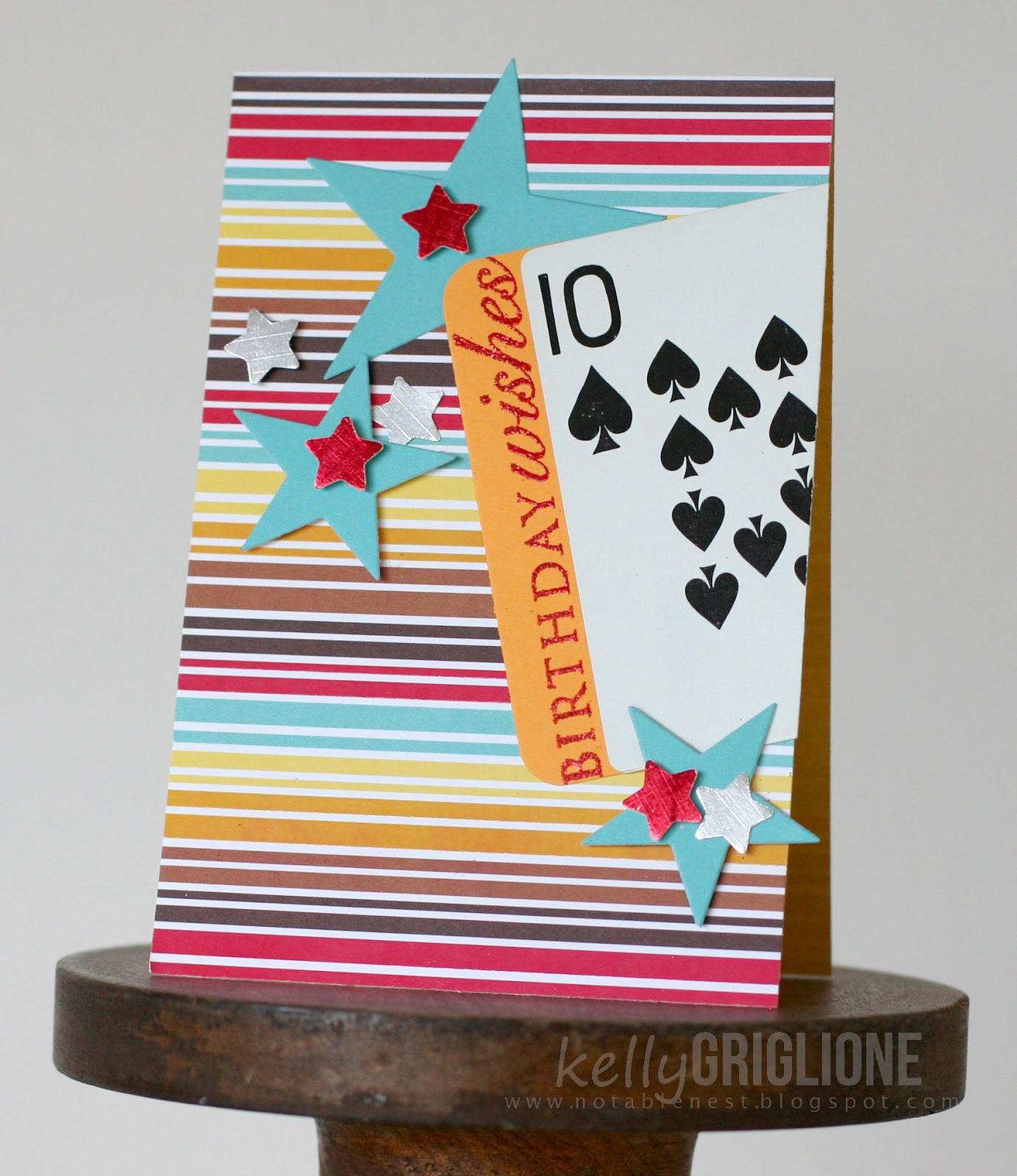 Birthday Card 10 Year Old Boy Best Of 40th Cards Notable Nest Papertrey April Blog Hop Playing