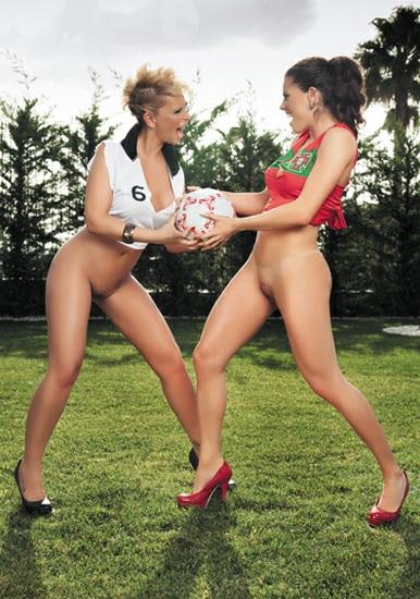 Ana Fragoso e Stella Styles Penthouse Euro 2012