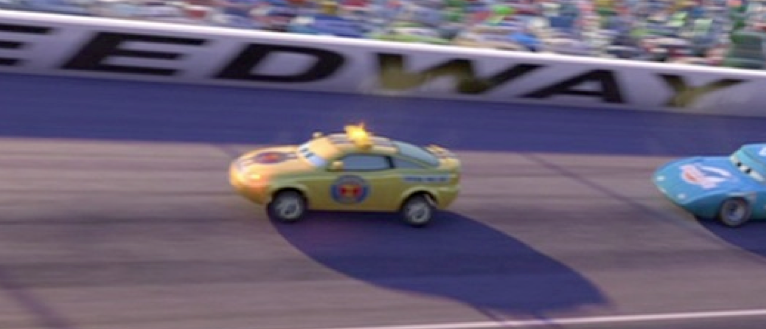 Dan The Pixar Fan Cars Charlie Checker