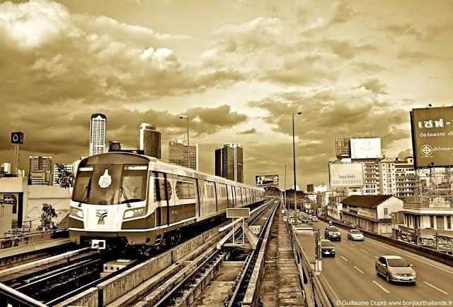Saphan Taksin Station Skytrain