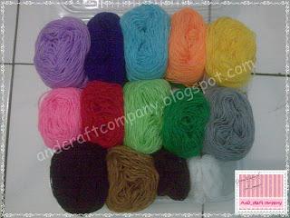 benang wol aneka warna
