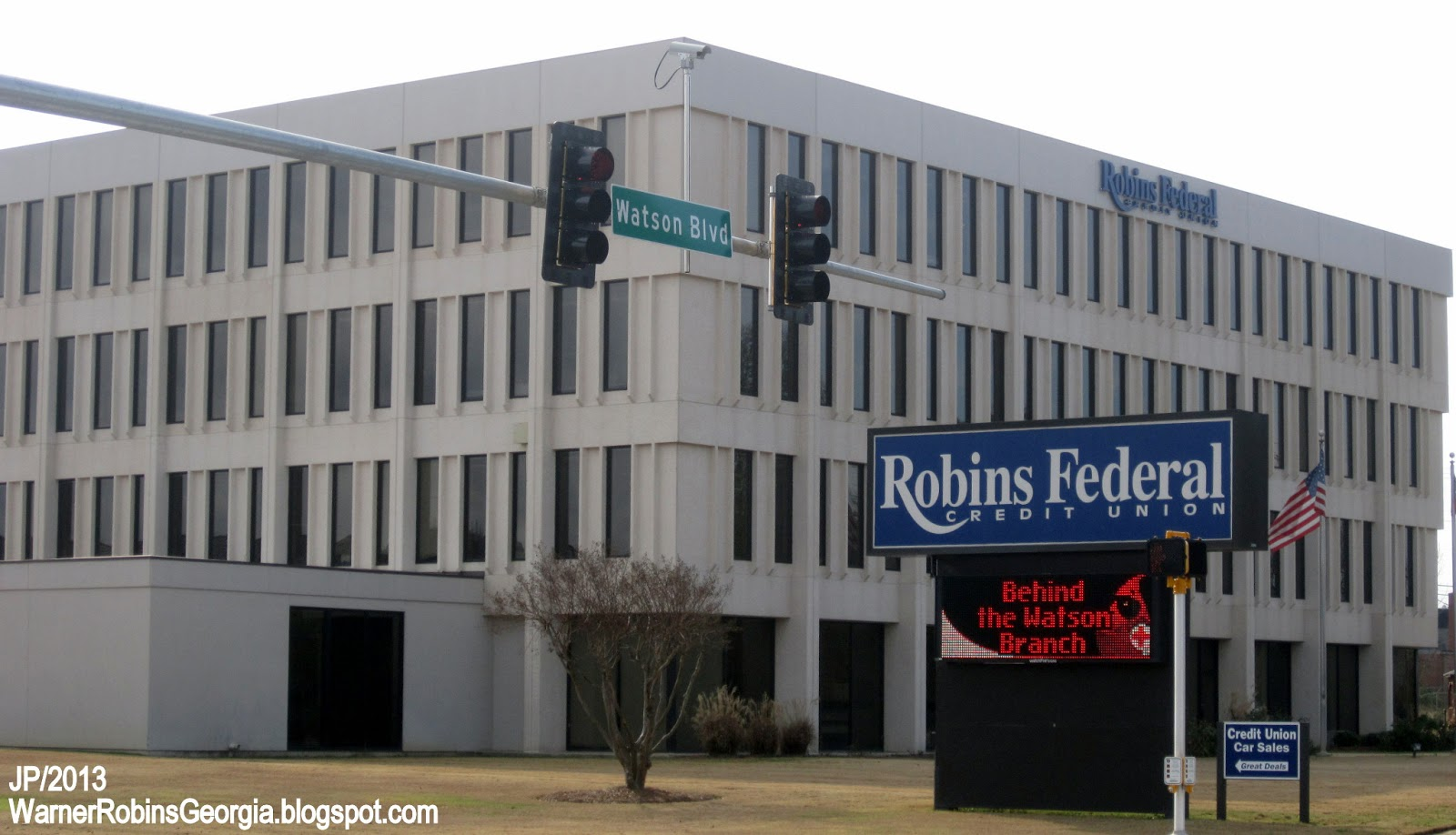 ... ROBINS FEDERAL WARNER ROBINS GEORGIA Watson Blvd. Robins Federal