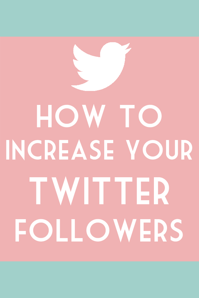 Easy guide to get follows on Twitter for bloggers