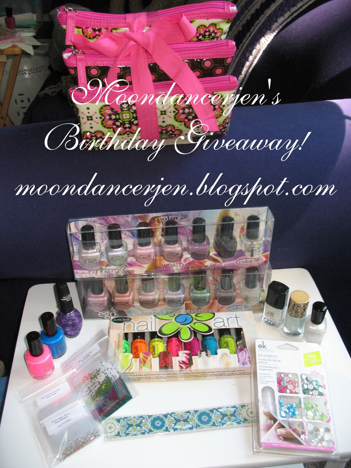 Moondancerjens Nails Happy Birthday To Me Giveaway For You
