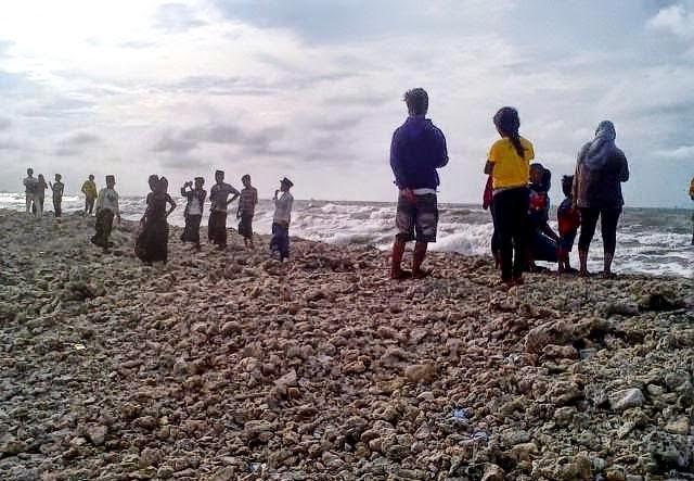 Kemunculan Pulau Karang Di Madura