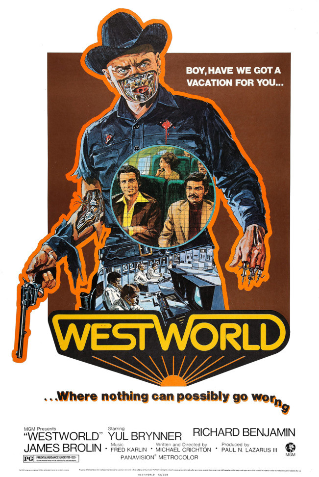 Avengers in Time: 1973, Film: Westworld