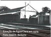 Estação de Água Clara em 1979.