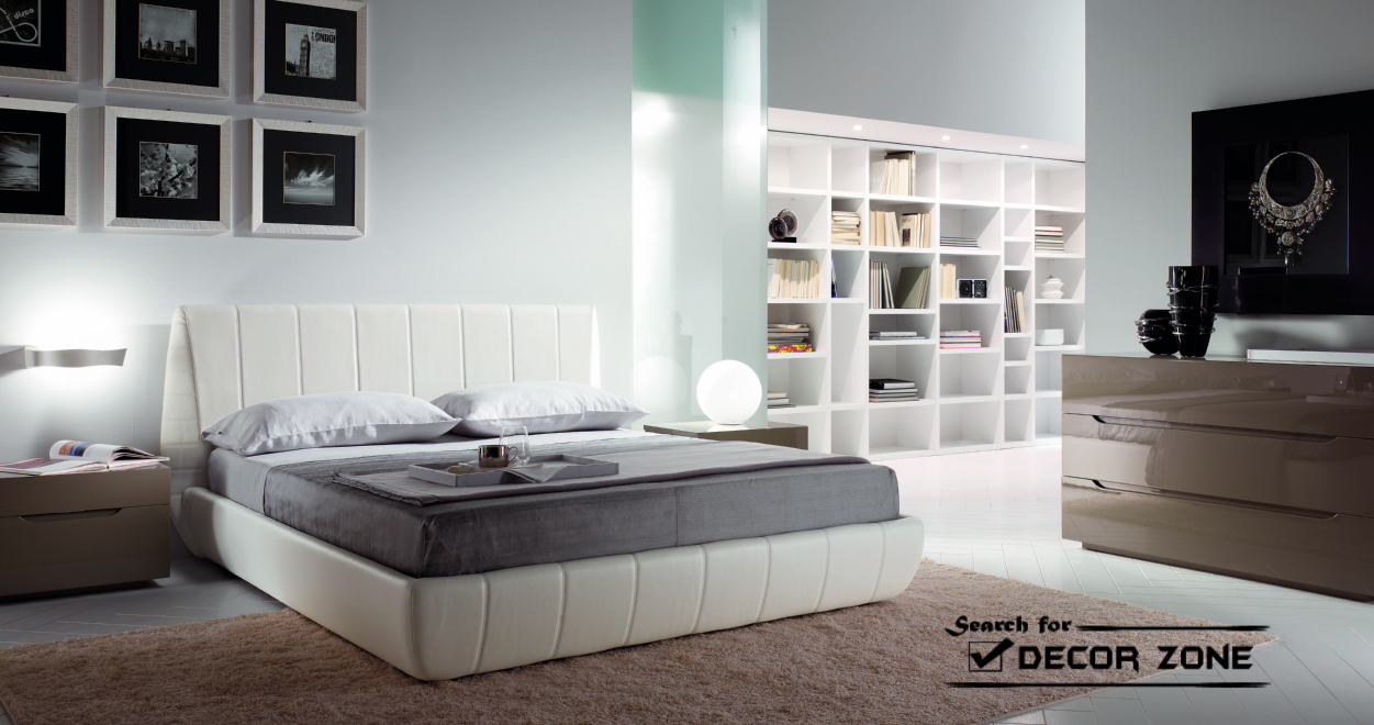 Modern bedroom furnishings sets 20 ideas and styles for Modern day bedroom designs