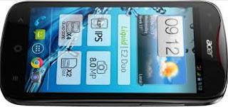 Spesifikasi Harga Acer Liquid E2