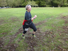 Woodside, CA trail run finish  12/2012