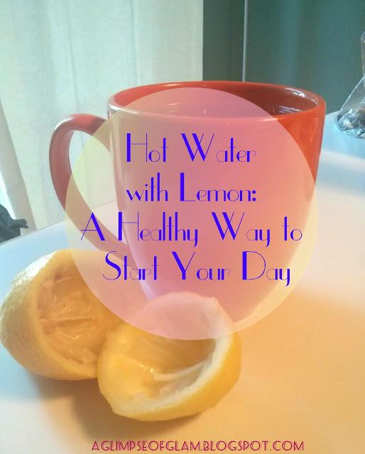 hot water with lemon health benefits