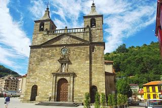 Vista de la basílica de Santa María Magdalena