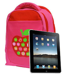 The official apple backpack with i-Pocket